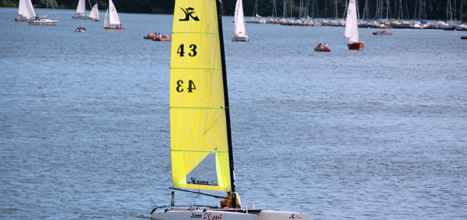lake bostal sailing boat